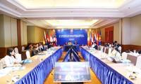 Visioconférence des dirigeants de haut rang de la communauté socioculturelle de l'ASEAN