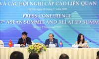 Conférence de presse sur le 37e sommet de l'ASEAN et ses conférences connexes