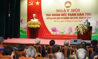 Nguyên Xuân Phuc célèbre la Journée de la grande union à Hanoï