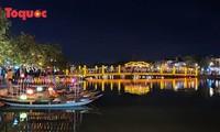 Illumination de Hôi An pour accueillir la nouvelle année 2021