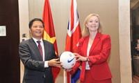 Signature de l'accord de libre-échange Vietnam-Royaume-Uni