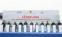 Centrale hydroélectrique de Hoà Binh: début des travaux d'extension