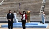 JO de Tokyo: le départ de la flamme olympique se déroulera sans spectateurs