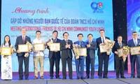 Remise des médailles «Pour la jeune génération» à 15 étrangers