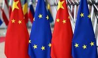 La tension diplomatique montre entre l'UE et la Chine