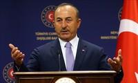 Le ministre turc des Affaires étrangères rencontre son homologue américain