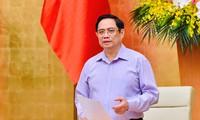 Pham Minh Chinh veut accélérer le perfectionnement institutionnel et juridique