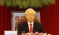 Discours de Nguyên Phu Trong au sommet «Le PPC et les partis politiques du monde»