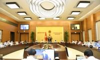 AN: le comité permanent prépare la première session de la quinzième législature