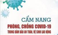 Publication d'un guide de prévention contre la pandémie de Covid-19 dans les milieux professionnels