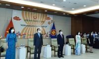 Cérémonie de lever du drapeau de l'ASEAN