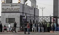 L'Égypte rouvre partiellement le point de passage de Rafah