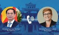 Entretien téléphonique Bui Thanh Son - Marise Payne
