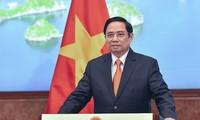 Le Premier ministre vietnamien au Sommet mondial du commerce des services