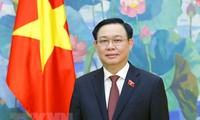 Vuong Dinh Huê participe à la 5e conférence mondiale des Présidents de Parlement