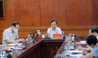 Colloque sur la relance de la production agricole dans les provinces méridionales