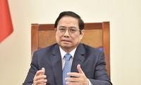 Entretien téléphonique Pham Minh Chinh - Sebastian Kurz