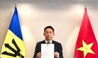 Vietnam-Barbade: une coopération prometteuse