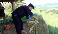 Độc đáo lễ cúng ruộng bậc thang của đồng bào Mông ở Mù Cang Chải