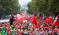 Thousands of Belgians protest austerity policy