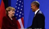 Obama, Merkel agree to maintain TTIP negotiations