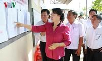 ガン議長、南部アンザン省の第14期国会選挙の準備作業を視察