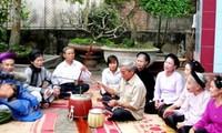 フンイエン省のカーチューの維持とその保存活動