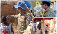 PKOに派遣されたベトナム人の士官の南スーダンでの活躍