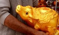 ビンズオン省ライティエウ村の陶器