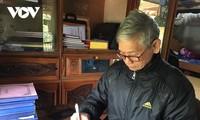 タイ族の伝統的文化の維持、保存に取り組んでいるチュアさん
