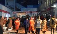 中国・炭鉱で浸水21人閉じ込め 救出難航