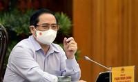 チン首相、情報通信省と会合を行う