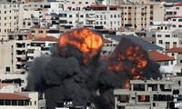 パレスチナ人とイスラエル治安部隊衝突 10人死亡