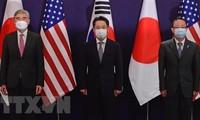 朝鮮と早期対話目指す 「前向きな回答期待」日米韓