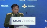 ミャンマー軍トップ  モスクワの国際安保会議に出発