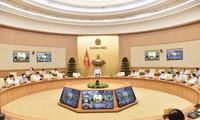 チン首相、新型コロナ予防対策でオンライン会議を主宰