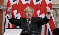 英首相「主権取り戻す」 離脱投票から5年、国内分断続く