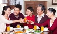 ベトナム家庭の日