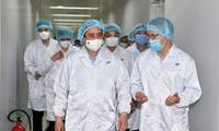 チン首相 ワクチン研究・開発・製造・接種の加速を求める