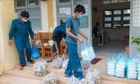 疫病が蔓延する中で、人道活動を促進