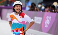 13歳の西矢選手が女子スケボーで金メダル獲得