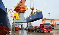 年初7ヶ月の輸出入額 29%増
