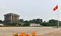 ベトナム民主共和国の誕生を記すバーディン広場