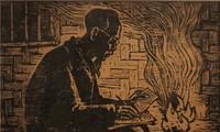 ホーチミン主席をテーマにした印象的絵画