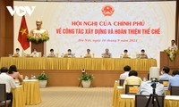 チン首相、体制の構築と完備を戦略的突破口と見なす