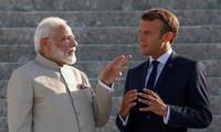 フランス、インドと関係強化を確認 米英豪に対抗か