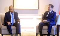 フック国家主席、各国の指導者らと会見