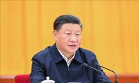 台湾海峡緊張に懸念 中国主席と電話会談―EU大統領