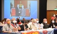メキシコでの各政党による国際シンポジウム、チョン党書記長の記事を高評