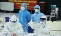 この24時間で、ベトナムで新たに4892人の市中感染者 確認